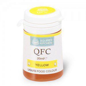 SK QFC Quality Food Colour Liquid Yellow
