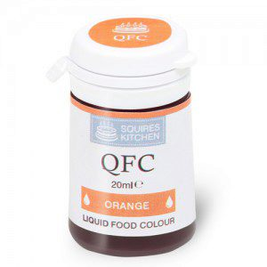 SK QFC Quality Food Colour Liquid Orange