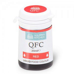 SK QFC Quality Food Colour Liquid Red