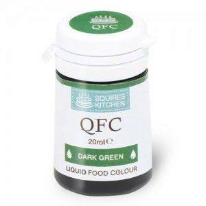 SK QFC Quality Food Colour Liquid Dark Green