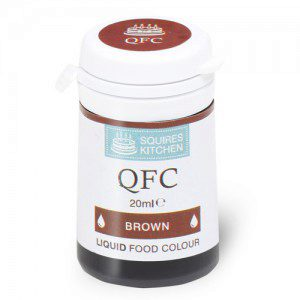 SK QFC Quality Food Colour Liquid Brown
