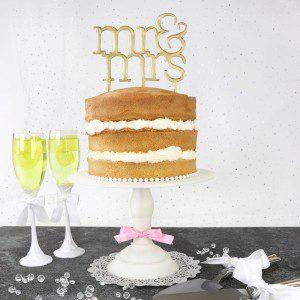 PME Cake Topper Cutter Mr & Mrs - Modern
