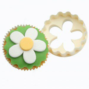 CupCake Ausstecher - Blume / Scallop