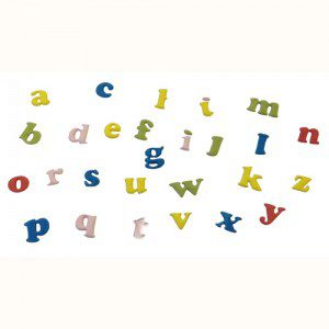FMM Alphabet Tappits Art Deco - Kleinbuchstaben