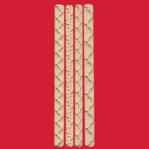 FMM Straight Frill Set 1 - Randleisten