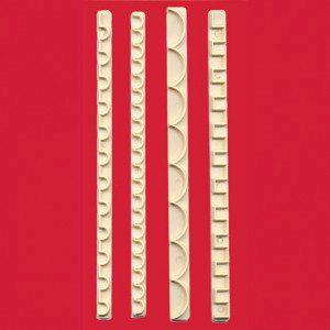 FMM Straight Frill Set 3 - Randleisten