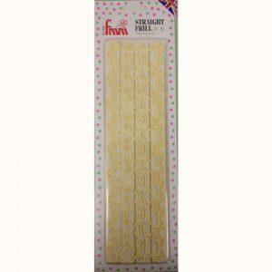 Straight Frill Cuttern 4 - Randleiste