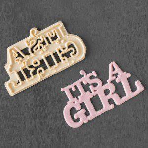 FMM It´s a Girl Ausstecher