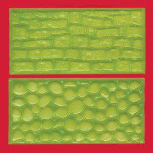FMM - Impressions-Matten, Stein und Mauerwerk, Set 2