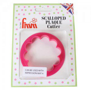 FMM Scalloped Plaque Cutter
