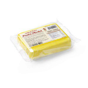 SARACINO - Modelling Sugar Paste - gelb