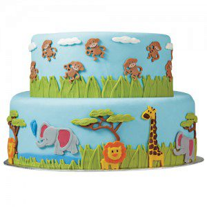 Wilton Mold mit Dschungeltieren -  Jungle Animals