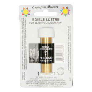 SU Edible Lustre Glitter Pure Gold