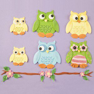 PWK  Eulen Set - Owl Set