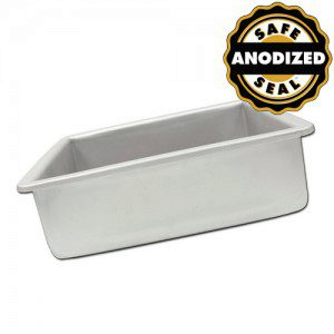 Fat Daddio's ProSeries Square Cake Pan -20 x 20 x 7,5 cm-