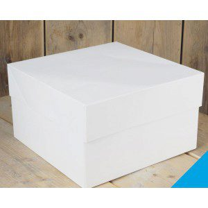 FC - Cake Box -Blanco 25x25x15cm