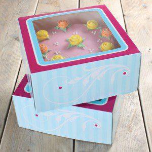 FunCakes CakeBox -Elegant 26x26x12cm