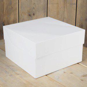 FC - Cake Box -Blanco 25x25x15cm- pk/1