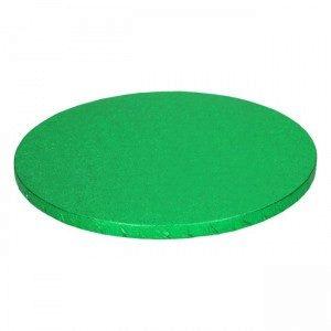 FC Cake Board rund Ø30 cm - grün