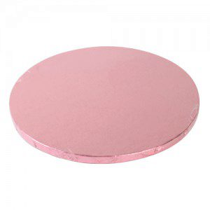 FunCakes Cake Board in pink, rund, 25 cm