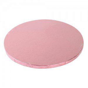 FC Cake Board in pink, rund, 30 cm