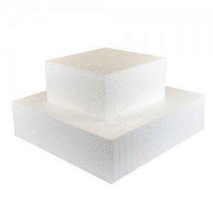 FunCakes Cake Dummy square 7cm -25x25cm-