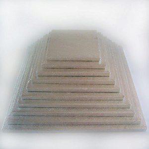 FC Cake Board quadratisch 25 cm