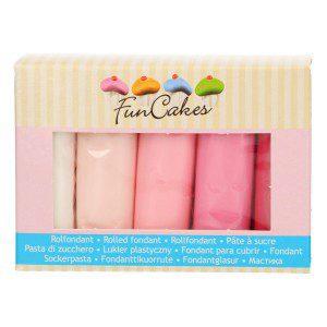 FC Fondant Multipack Pink Colour Palette