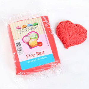 FC - Rollfondant - Fire Red