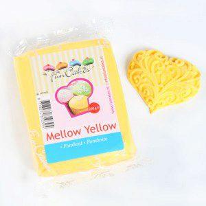 FC - Rollfondant  - Mellow Yellow