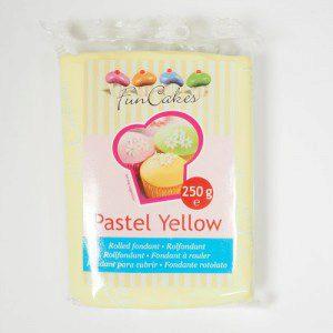 FC - Rollfondant - Pastel Yellow -250g-