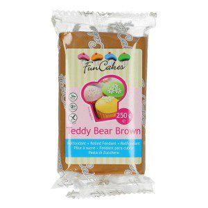 FC - Rollfondant - Teddy Bear Brown -