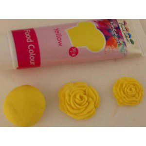 FC Edible FunColours Gel - Yellow 30g