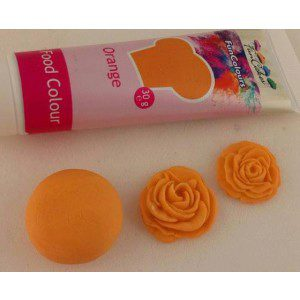 FC Edible FunColours Gel - Orange 30g