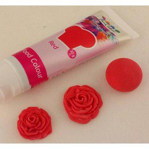 FC Edible FunColours Gel - Red 30g