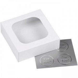 Wilton Treat Box Small White Pkg/3