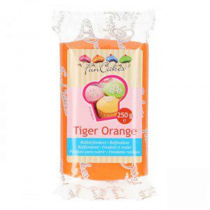 FC - Rollfondant - Tiger Orange -250 g