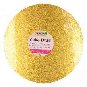 FC Cake Board rund Ø25 cm - gold
