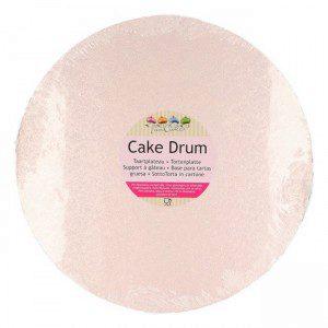 FC Cake Board rund Ø25 cm -Rose Gold