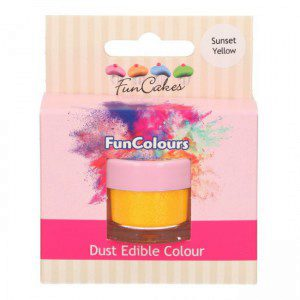 FC Edible FunColours Dust - Sunset Yellow