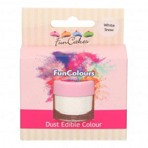 FC Edible FunColours Dust - White Snow