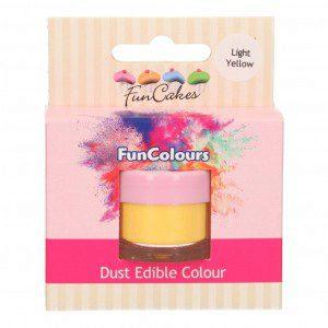 FC Edible FunColours Dust - Light Yellow