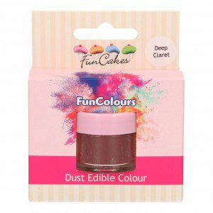 FC Edible FunColours Dust - Deep Claret