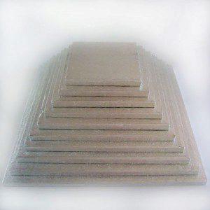 FC Cake Board quadratisch 12,5 cm