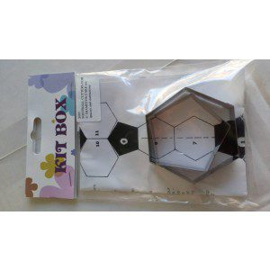 KitBox Football Cutters für 15 cm runde Kugel
