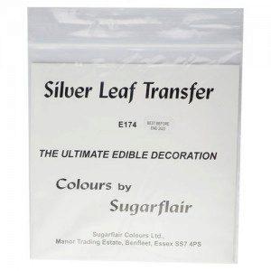 SU Silver Leaf Transfer