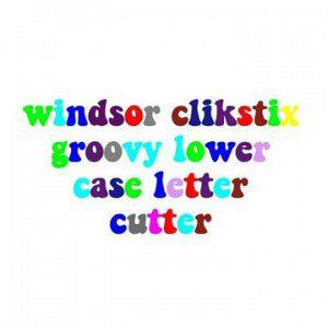 Clikstix  Groovy Alphabet Lower Case - Kleinbuchstaben