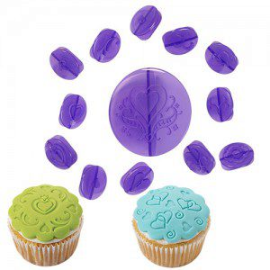 Wilton Cupcake Decorating Set - Hearts / Herzen
