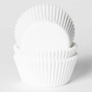 HoM Mini Baking cups White - pk/500