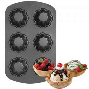 Wilton Non-Stick Ice Cream Cookie Bowl Pan